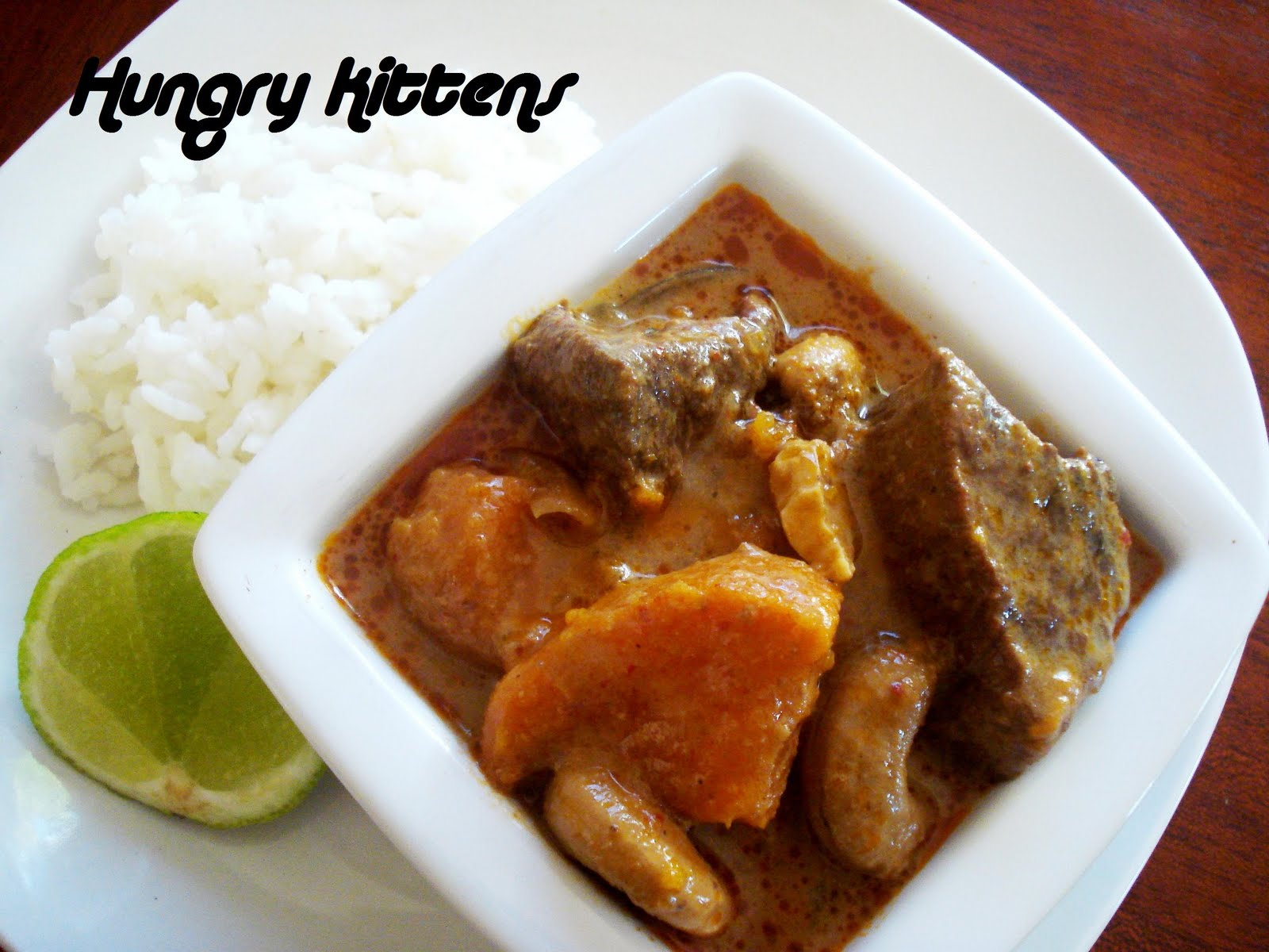 Hungry Kittens: Beef Massaman Curry