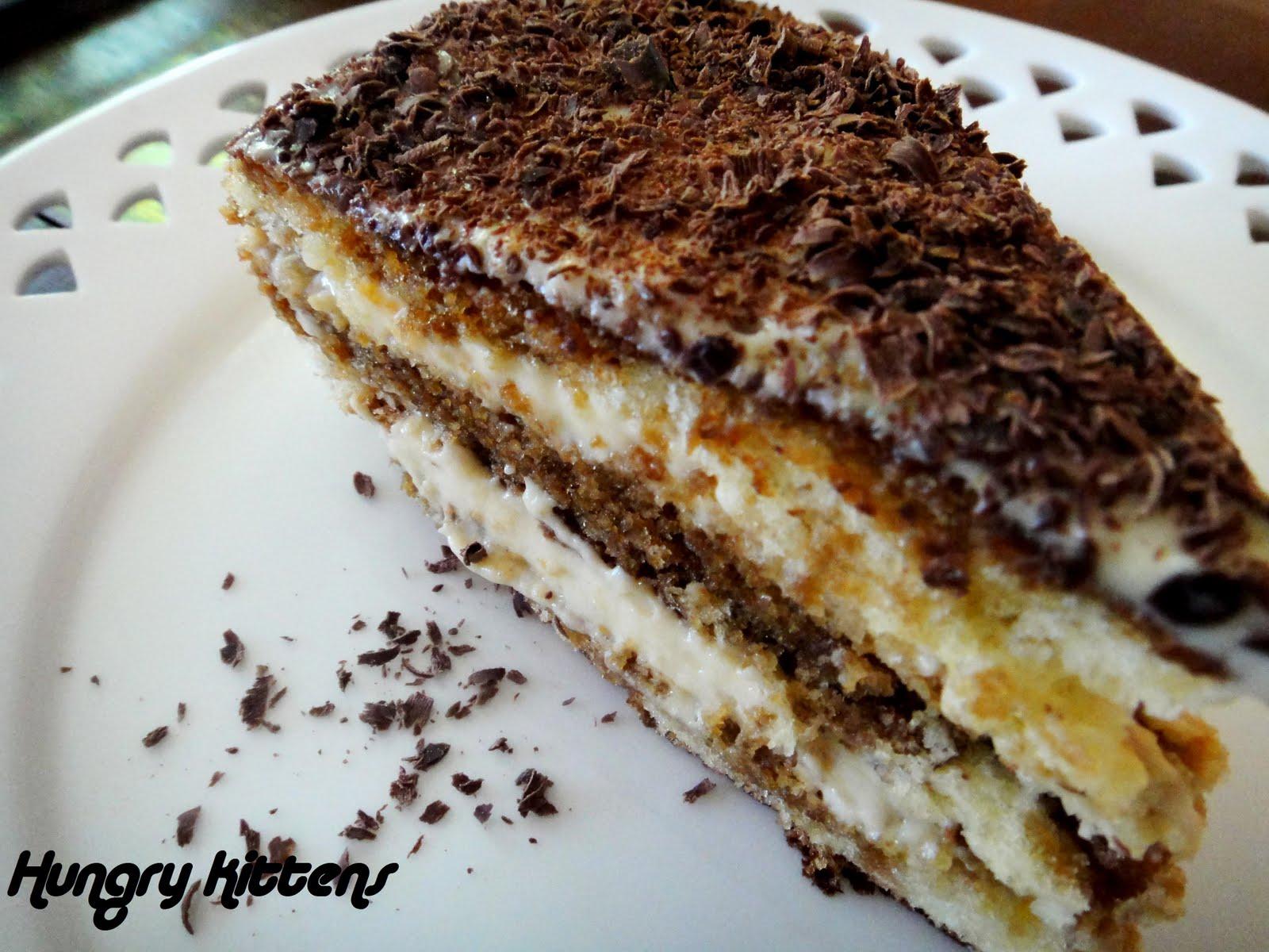 Hungry Kittens: Tiramisu Layer Cake
