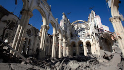 Cathedral Lying in Ruins
