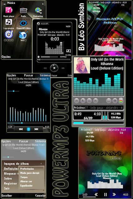 PowerMP3 Ultra v1.18 Автор данной сборки(мода) Lo Symbian. Мультимедийные.