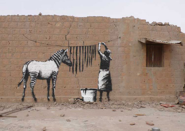 terra incognita banksy 39 s great graffiti art. Black Bedroom Furniture Sets. Home Design Ideas