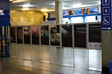 Wystawa na dworcu PKP w Katowicach