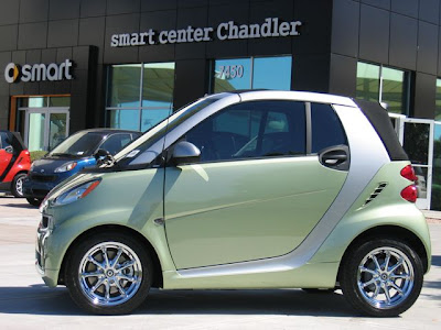 All Cars, All the Time: Cust smart fortwo Paint Jobs
