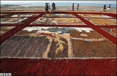 art on sand