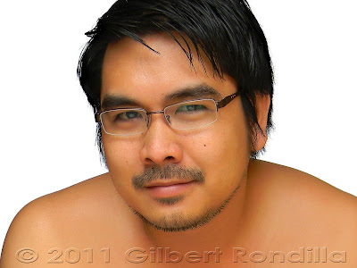 Selfportrait of Gilbert Rondila, Philippines