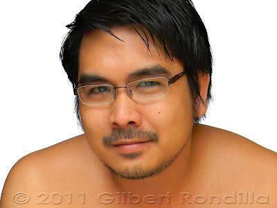 Selfportrait of Gilbert Rondila, Philippines