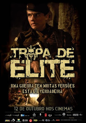 Filme Poster Tropa de Elite DVDRip RMVB Nacional