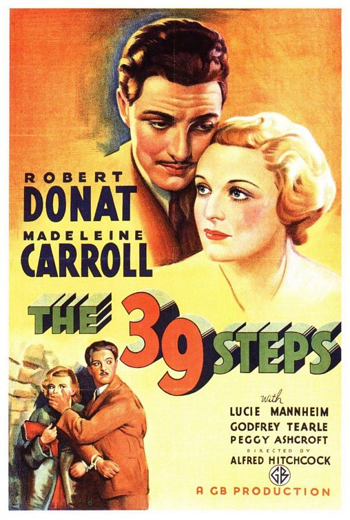 The 39 Steps (The Thirty-Nine Steps) (1935)