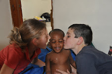 Brock & Abbey in Haiti