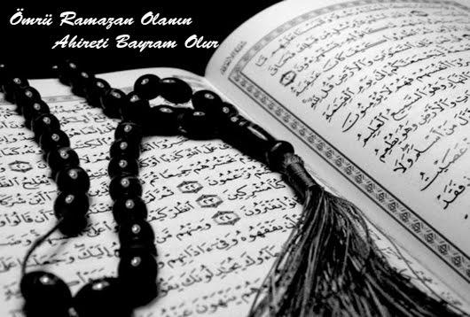 ''Ömrü Ramazan Olanın Ahireti Bayram Olur''