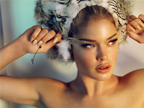 doutzen kroes hairstyles. doutzen kroes wedding. doutzen