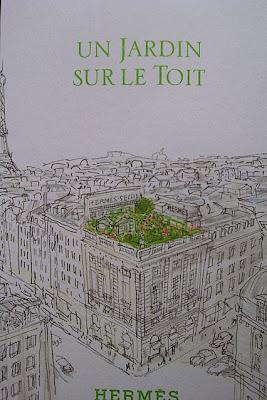 new fragrance hermes un jardin sur le to t a garden on the roof. Black Bedroom Furniture Sets. Home Design Ideas