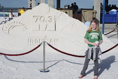 The 70.3 Sand Sculpture