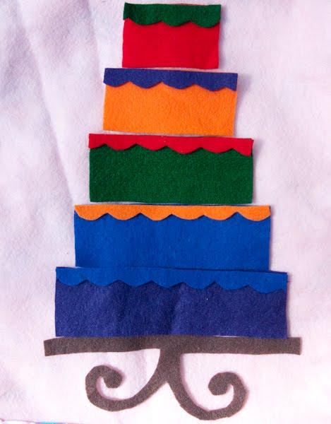 Craft Knife: Spray Paint and Felt Cake: Craft Fair WIPs