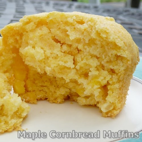 Maple Cornbread Muffins - Grumpy's Honey Bunch