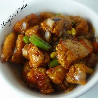 Black Pepper Chicken - Grumpy's Honey Bunch