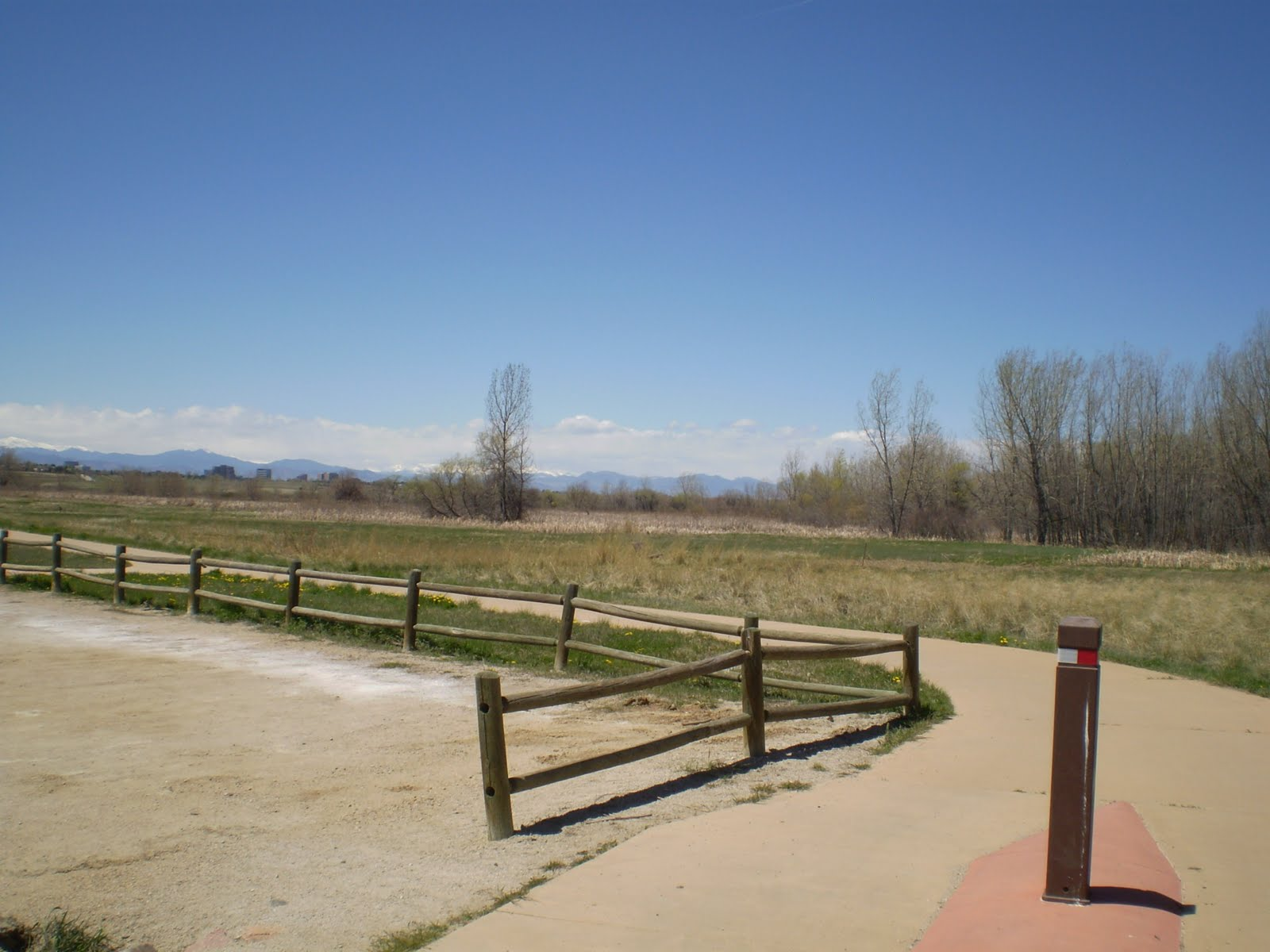 Denver 39 s bike paths may 2010 exploring cherry creek state for Cherry creek