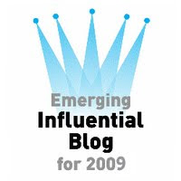 Influential Blog Badge