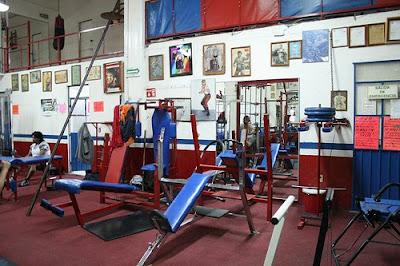Estrellas del ring gimnasio charles bronson m xicano for Gimnasio arena