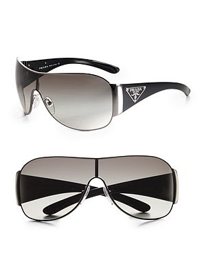 gucci shield sunglasses. Prada Shield Sunglasses