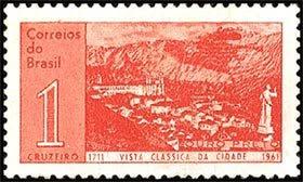 Vista de la ciudad de Ouro Preto