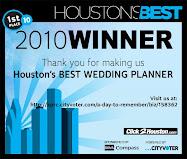 Voted BEST Wedding Planner 2010