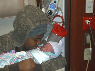 New Born & Brother