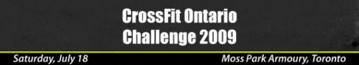 CrossFit Ontario Challenge 2009