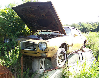 Ron Arnold Of Lafayette La Sent Me These Photos A High Flying 1971 Firebird In Junkyard Near Washington Louisiana