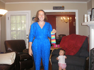 Do I look cute in it or what?!? I think the look on Marlieu0027s face is funny too. In my hands are a pair of baby leggings that I could incorporate somehow.  sc 1 st  Life of a Redleg Wife & Life of a Redleg Wife: I want to be Rainbow Brite - help me!