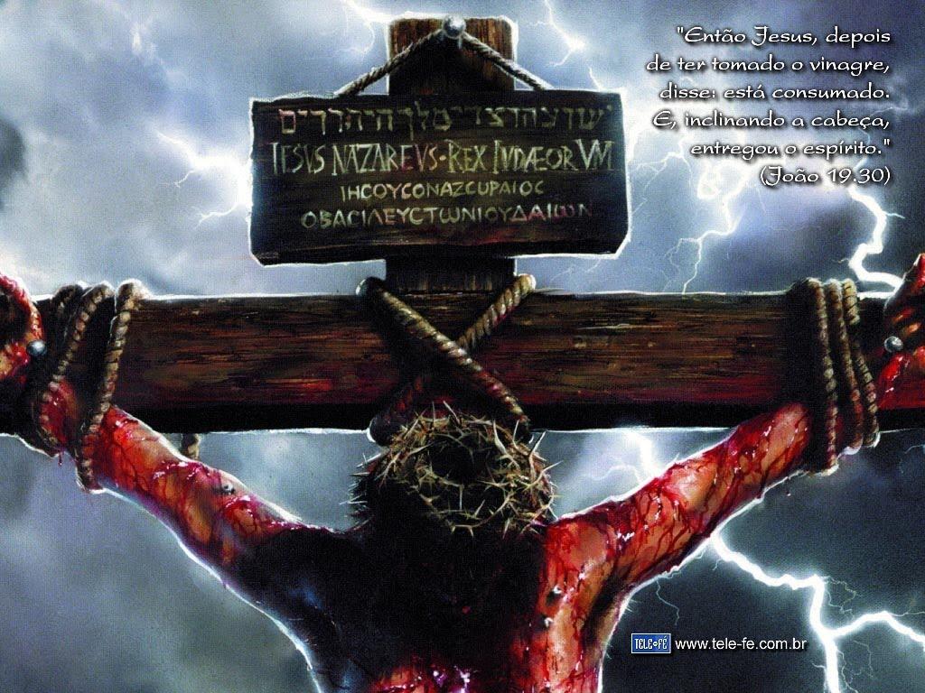 JESUS CRISTO E A MENSAGEM DA CRUZ