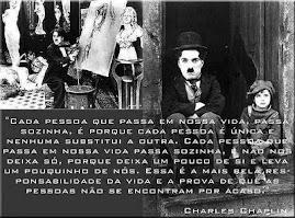 Charles Chaplin...admirável.