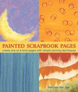 My Book-Painted Scrapbook Pages