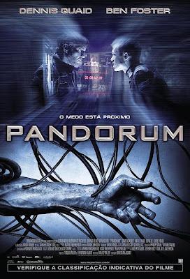 filme pandorum poster cartaz