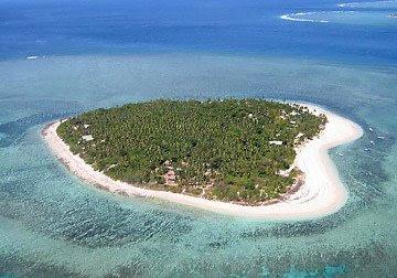 ilha tavarua coração