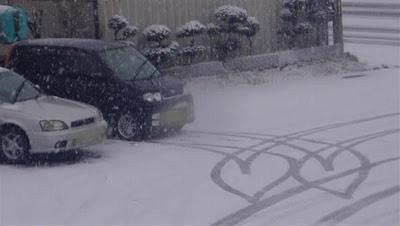 coração neve carros
