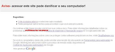 google pode danificar seu computador