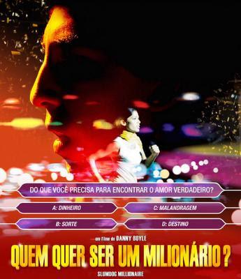 quem quer ser um milionário cartaz brasileiro