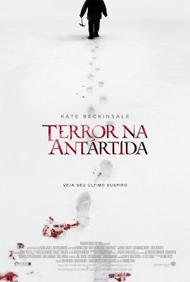 terror na antártida pôster cartaz