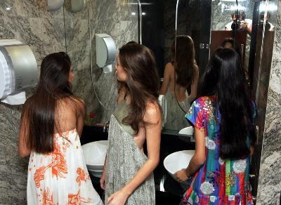 conversa de banheiro