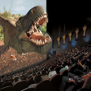 cinema imax divulgação dinossauro