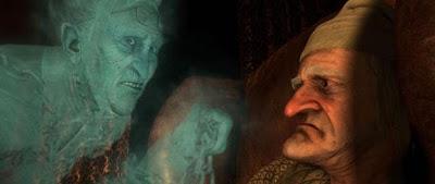 filme fantasmas de scrooge fantasma do sócio