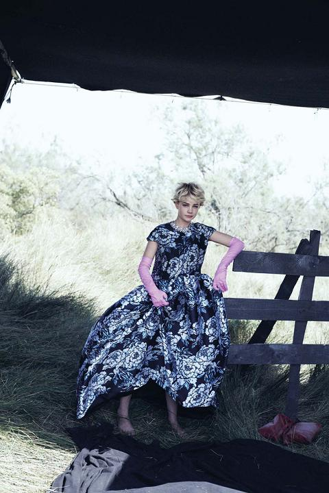 carey mulligan vogue outubro 2010