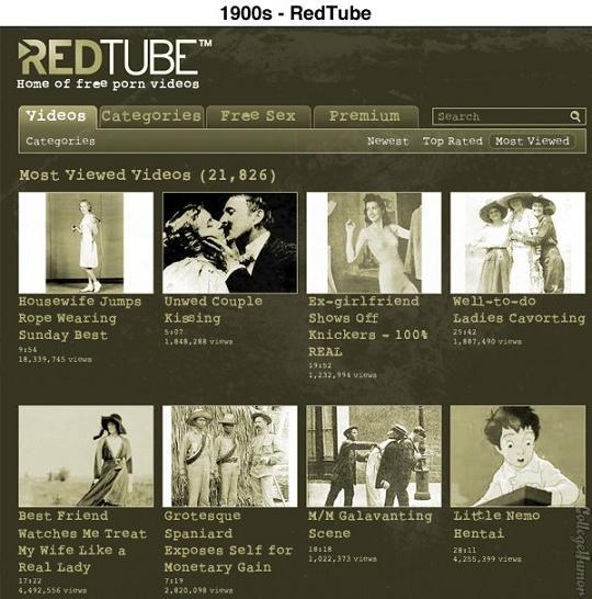 sites vintage redtube