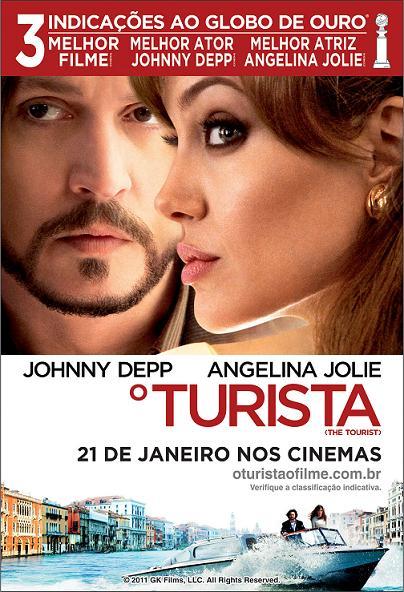 filme o turista poster cartaz angelina jolie johnny depp