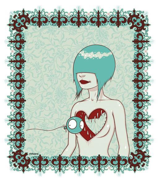 tara mcpherson lost heart coração mulher
