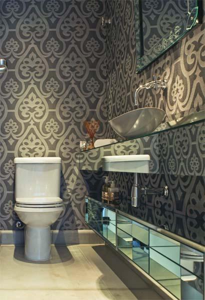 decoracao no lavabo:Esse é o mais mais de todos os meus olhos, rs.