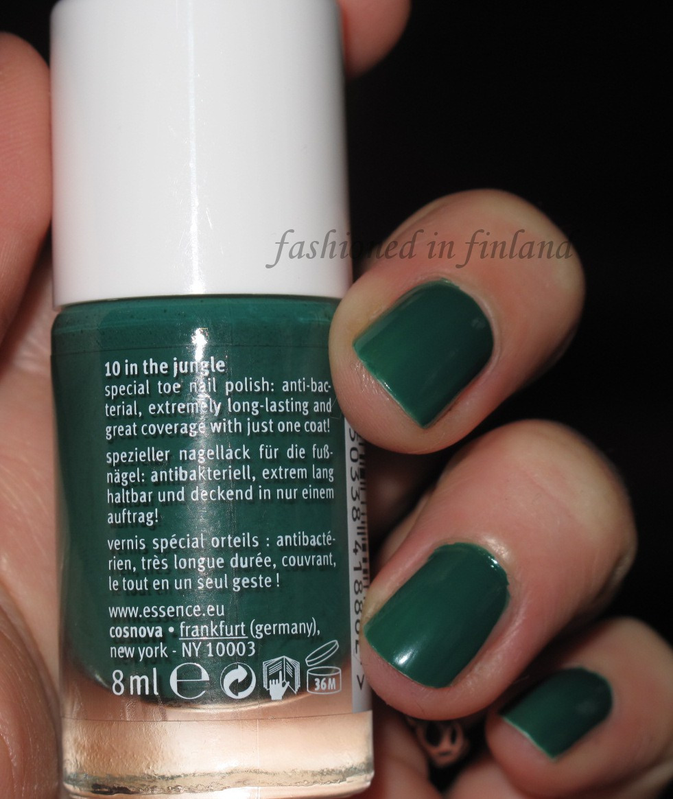 """[NOTD] Essence Show your Feet """"In the Jungle"""""""