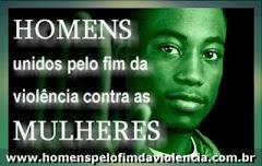 Campanha Homens pelo fim da violência contra as mulheres