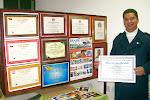 Certificados e Premiações de 2008